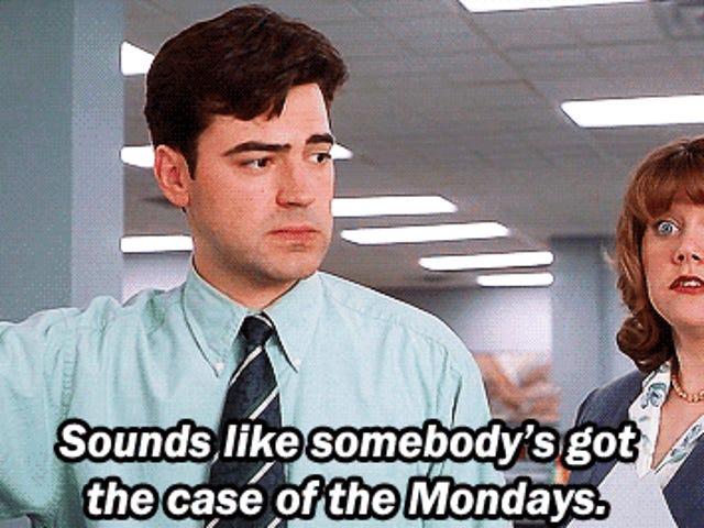 Cure untuk kasus Mondays ... Desk Fleet post