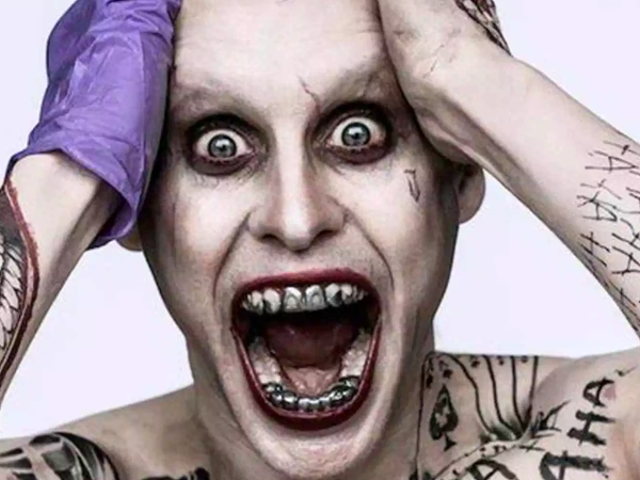 Here's Our Best Look Yet at Jared Leto's New Joker (and His Sweatpants)