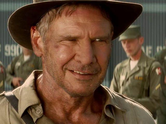 He eivät koskaan mene uudelleen Indiana Jones