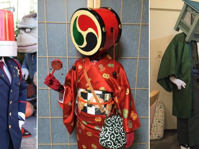 La nouvelle tendance geek du Japon: des têtes étranges