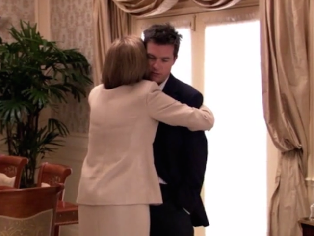 Hugging Is a Two-Way Street, Okay?