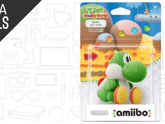 You Can Now Buy the Green Yarn Yoshi Amiibo Separately, While It Lasts