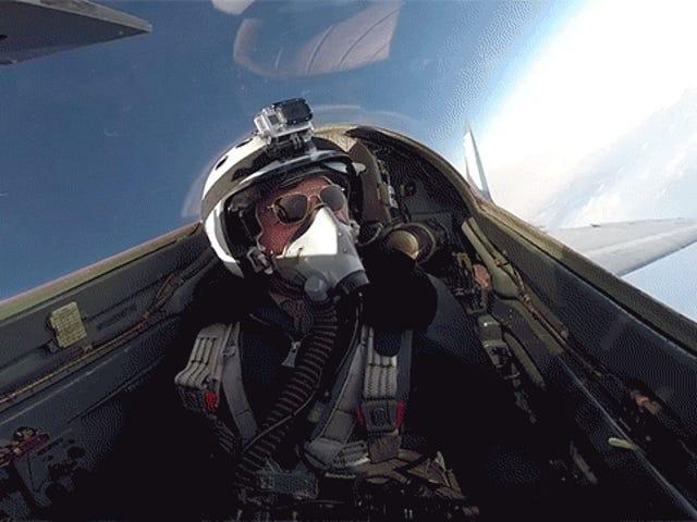 Ось як це здавати в оренду МіГ-29, щоб пролетіти над хмарами стратосфери
