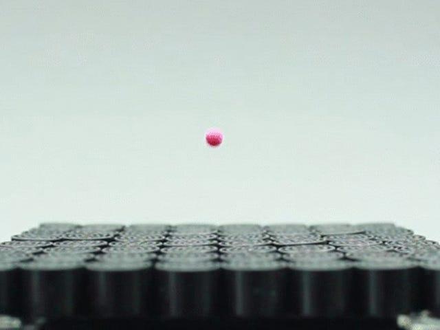 Tonton Sonam Tractor Beam Levitate a Ball yang tidak berdaya
