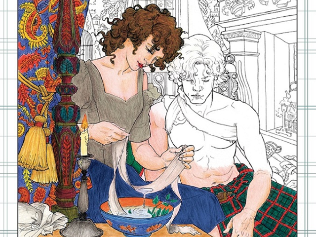 The OutlanderColoring Book Is An Actual Thing That Exists