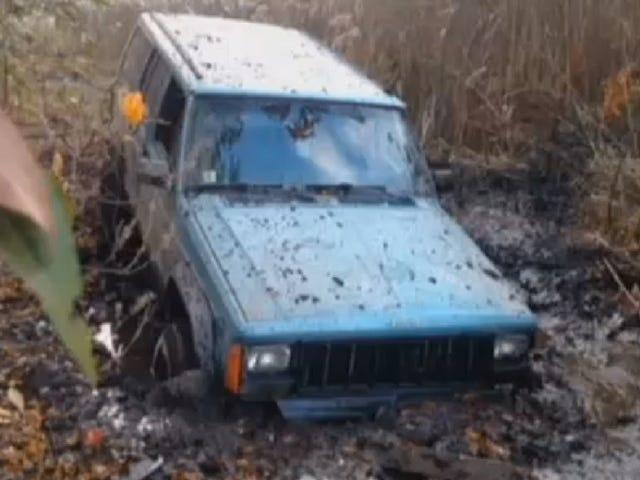 En butik oplader denne fyr 48.000 dollar til at bøje sin gamle jeep
