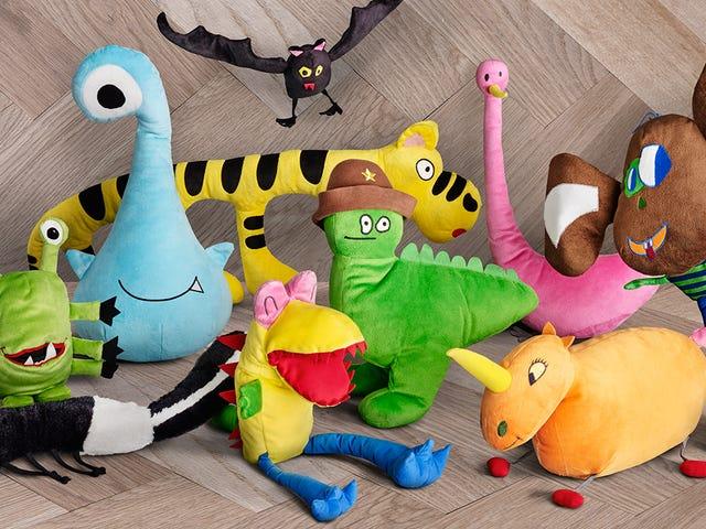 Ikea drejede en flok børne tegninger til en ny linje af fyldte legetøj