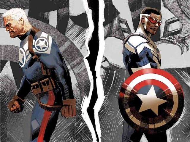 Why the Original Captain America Is Mad At the New Captain America