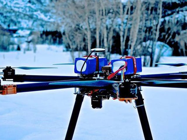 Detonating Avalanches With Explosive Drones Isn't as Dumb as It Sounds