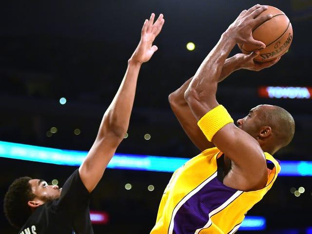 Gamla mannen Kobe och de unga Lakers är roliga som helvete