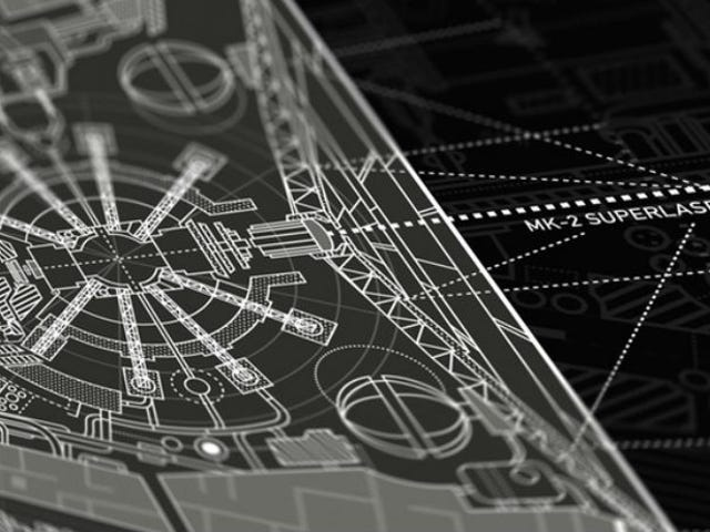 Wow, This Poster Of The Death Star Blueprints Is Insane