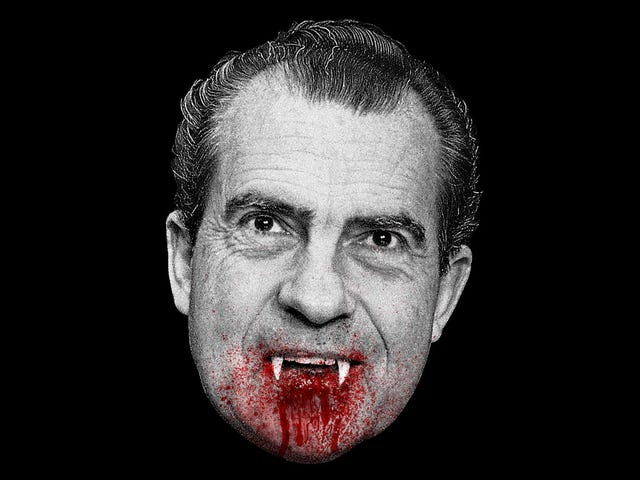 The 5 Spookiest Movies That President Nixon Watched in the White House