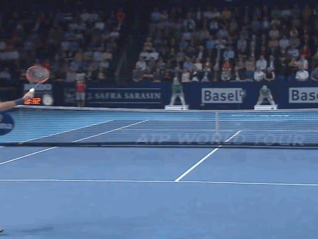 Roger Federer est lisse