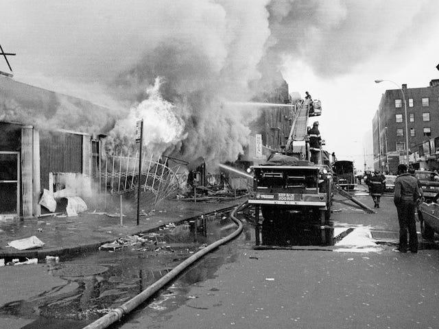 1970年代にブロンクスを平準化した火事の原因となったデータの悪さ