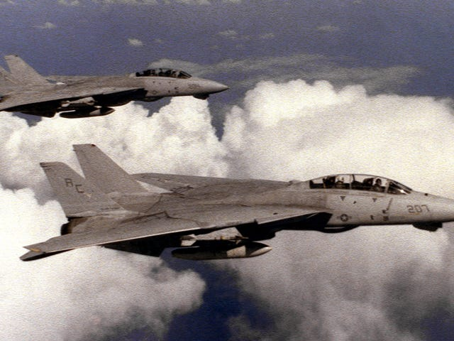 Hear This Intense Declassified Recording Of F-14s Shooting Down Libyan MiG-23s