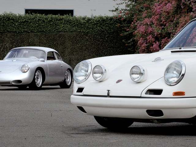 These Porsches Run On Midnight Oil