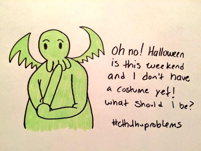 Happy Halloween from Lumpy Cthulhu