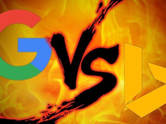 Suchmaschine Showdown: Google vs. Bing