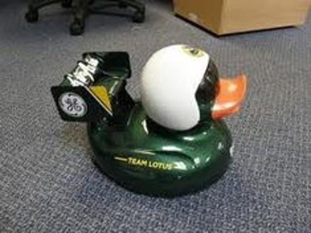 Somebody say something about a duck?