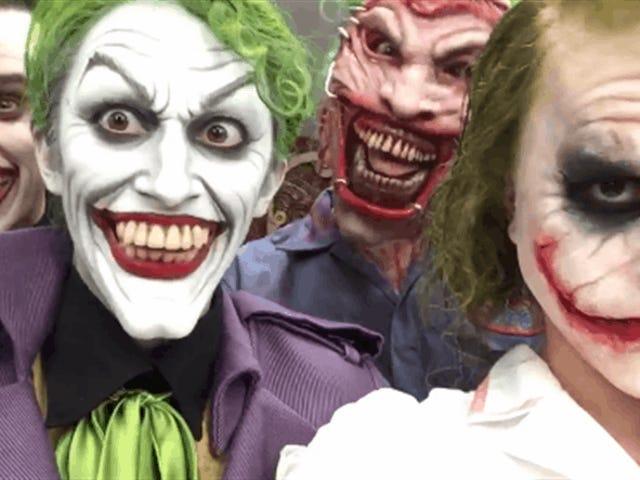 Killer Joker Cosplay, Courtesy Of A Hollywood Legend