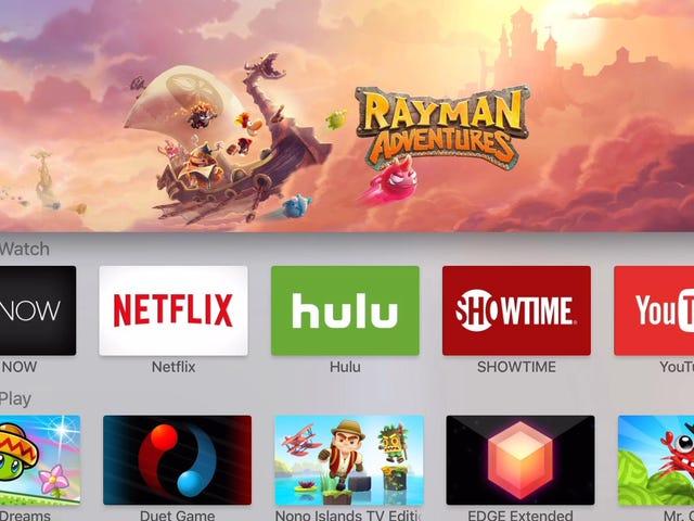 Nowy Apple TV jest początkiem małej, niewielkiej maszyny do gier