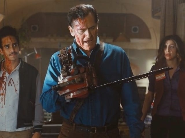 Bruce Campbell Is Hilarious on the Bloody, Amazing Ash Vs. Evil Dead