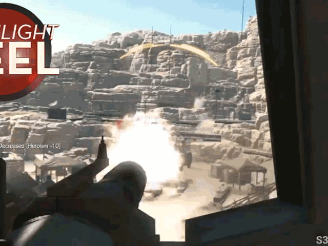 <i>Metal Gear</i> Player Aces Mission uten å forlate Chopper