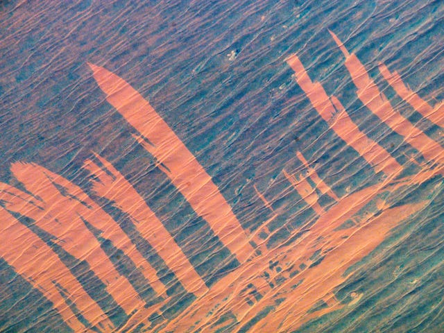 Fires Leave Picture-Perfect Scars in the Australian Outback