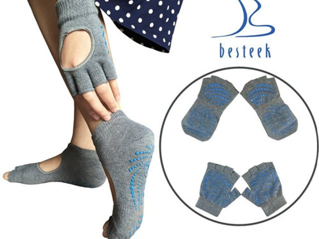 Yoga Socks and Gloves Set from $7.99