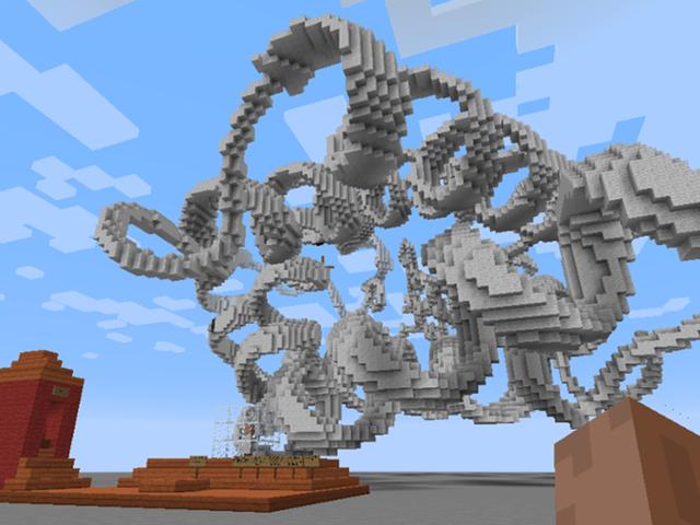 Gli scienziati hanno costruito questo campo di gioco molecolare in Minecraft per insegnare ai bambini la chimica