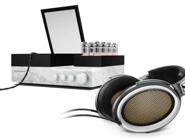 Válvulas de vacío y mármol italiano: los nuevos auriculares de Sennheiser cuestan $ 55.000