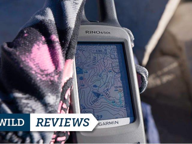 Garmin Rino 650t αναθεώρηση: GPS Navigator και ραδιόφωνο σε ένα