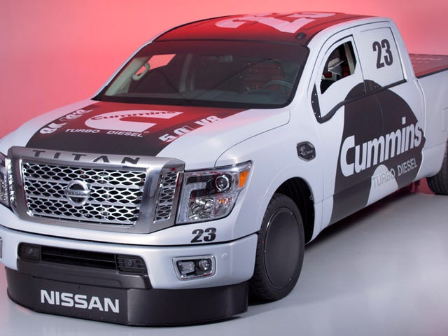 Nissan Will Try To Set A Speed Record With The New Cummins Diesel Titan