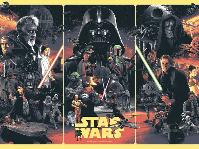 This New <i>Star Wars</i> Poster Brings Together The Best Of Franchise History