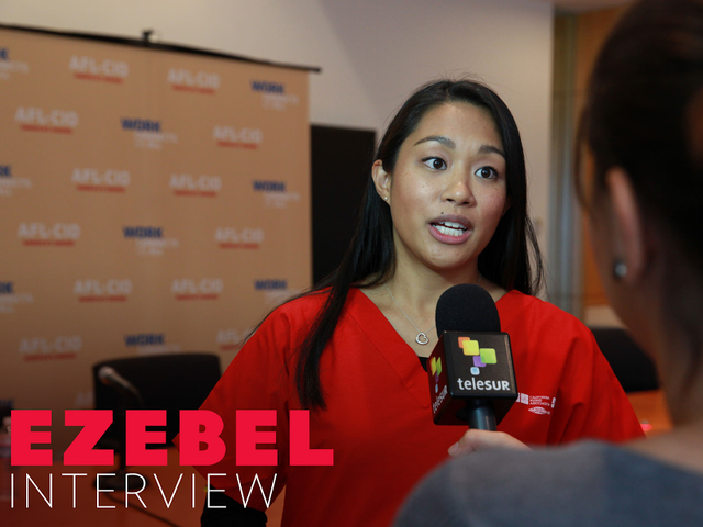 Una charla con Allysha Almada, que replicó para enfermeras en la Casa Blanca