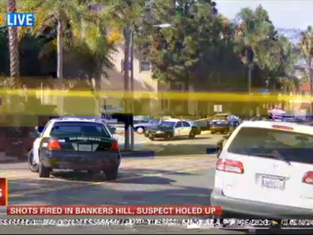 Active Shooter Engaged in Hours-Long Standoff with Police in San Diego