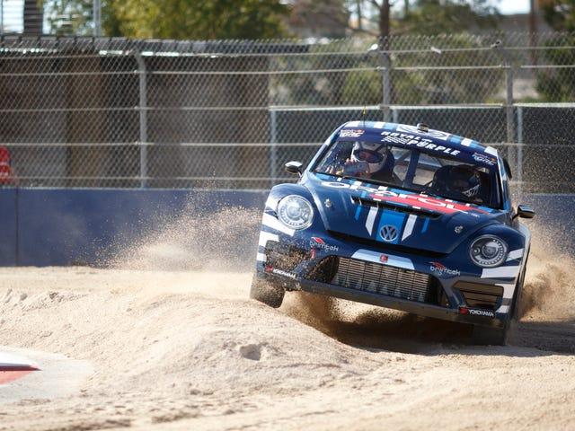 Scott Speed gana el Campeonato Mundial de Rallycross 2015 en Crazy Wet Final