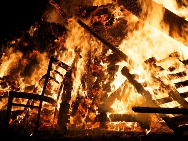 Husk, Husk: Der er en downside for alle de Guy Fawkes Bonfires