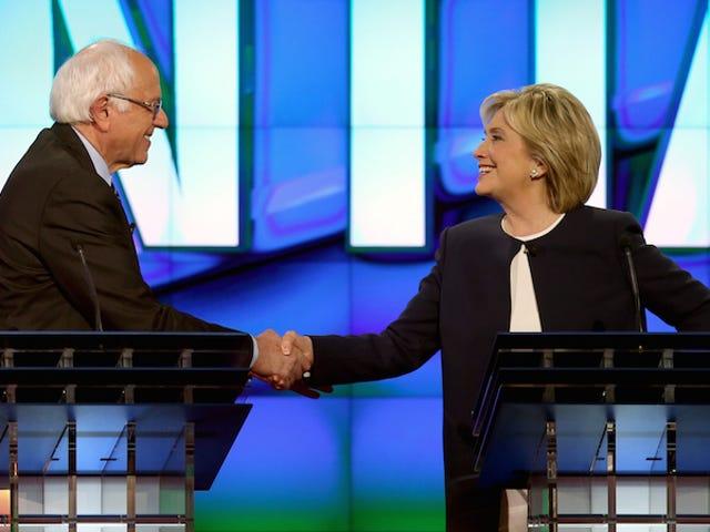Wait, Wait, Bernie Sanders Never Said We Shouldn't Investigate Hillary Clinton's Emails