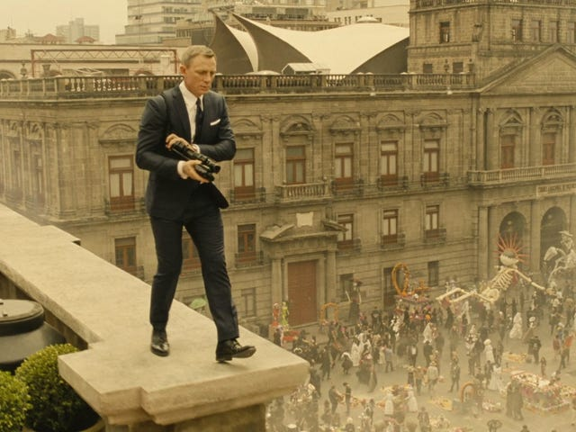 Spectre is Way Too Ridiculous A Movie To Take Itself So Seriously
