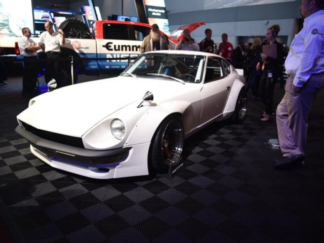 Nissan 240z won Gran Turismo award