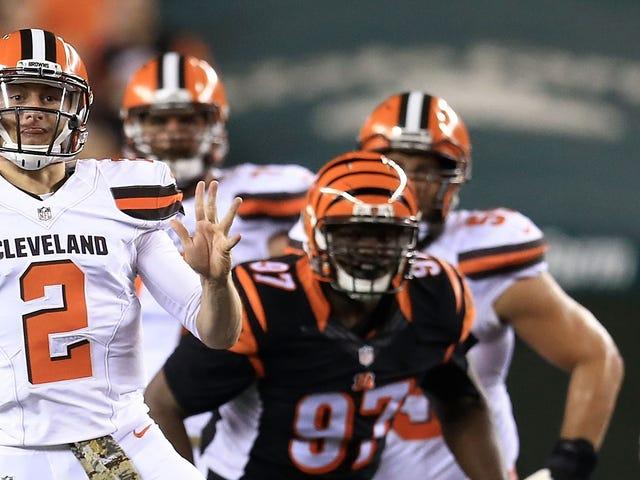 Los Browns aún no se comprometen con Johnny Manziel, por alguna razón