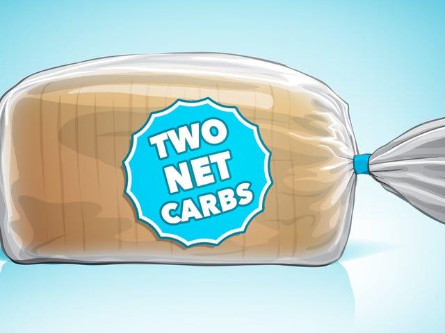 """食品标签上的""""净碳水化合物""""究竟意味着什么"""