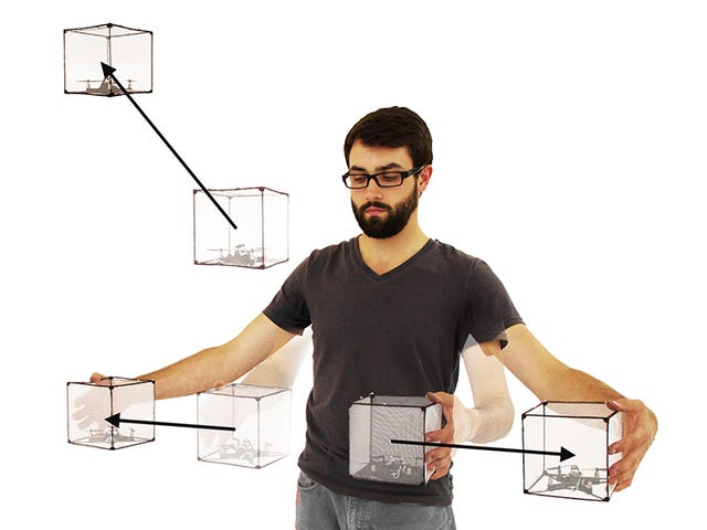 Disse droner er som flydende Legos