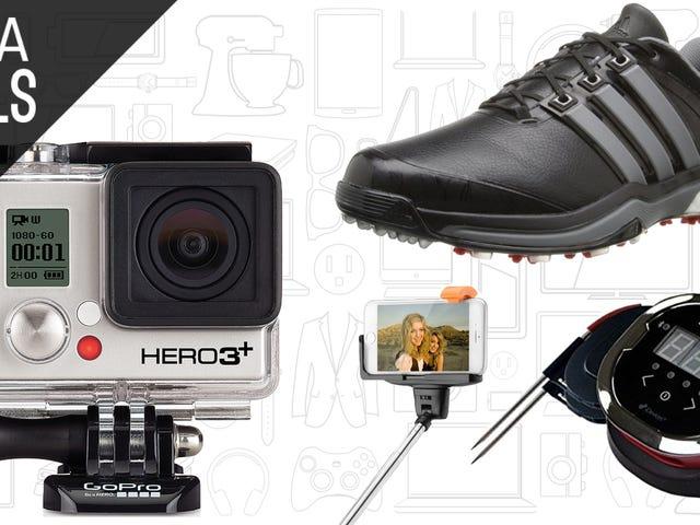토요일 최고의 할인가 : 저렴한 GoPros, Adidas Shoes, $ 5 Selfie Stick 등