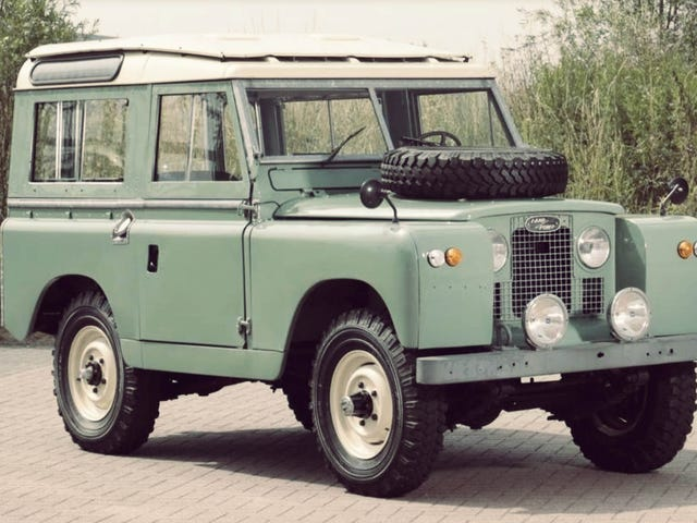 Calling all of the Land Rover wackos.