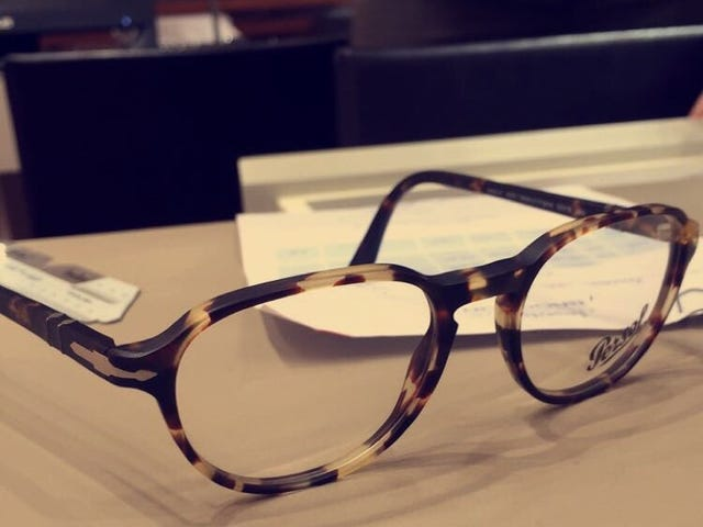 Fick mig några nya glasögon