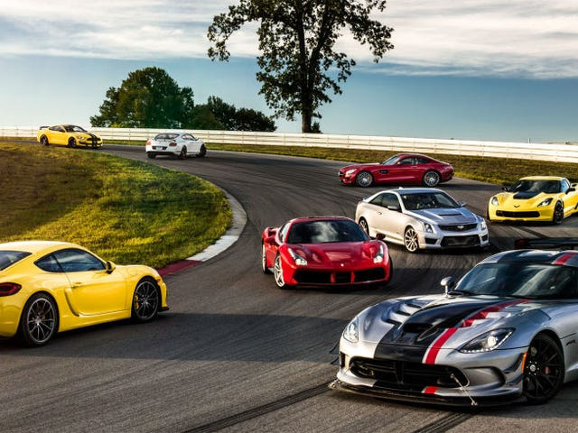 One Of These Eight Cars Is The 2016 Road & Track Performance Car Of The Year