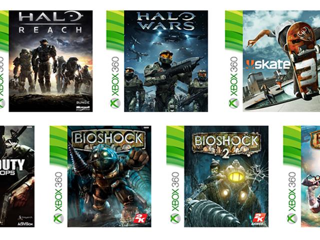 Estos son los primeros 100 juegos de Xbox 360 kolej na jugar en la Xbox One