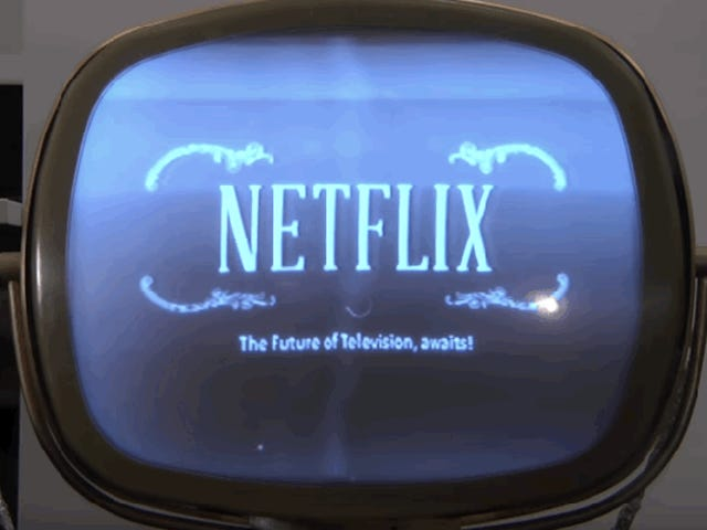 How Netflix Could've Looked in the 1950s
